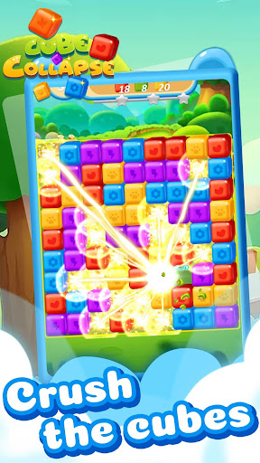 Cube Collapse: Pop Blast Puzzle Game 1.0.0 screenshots 1