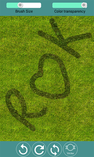Draw on the Grass