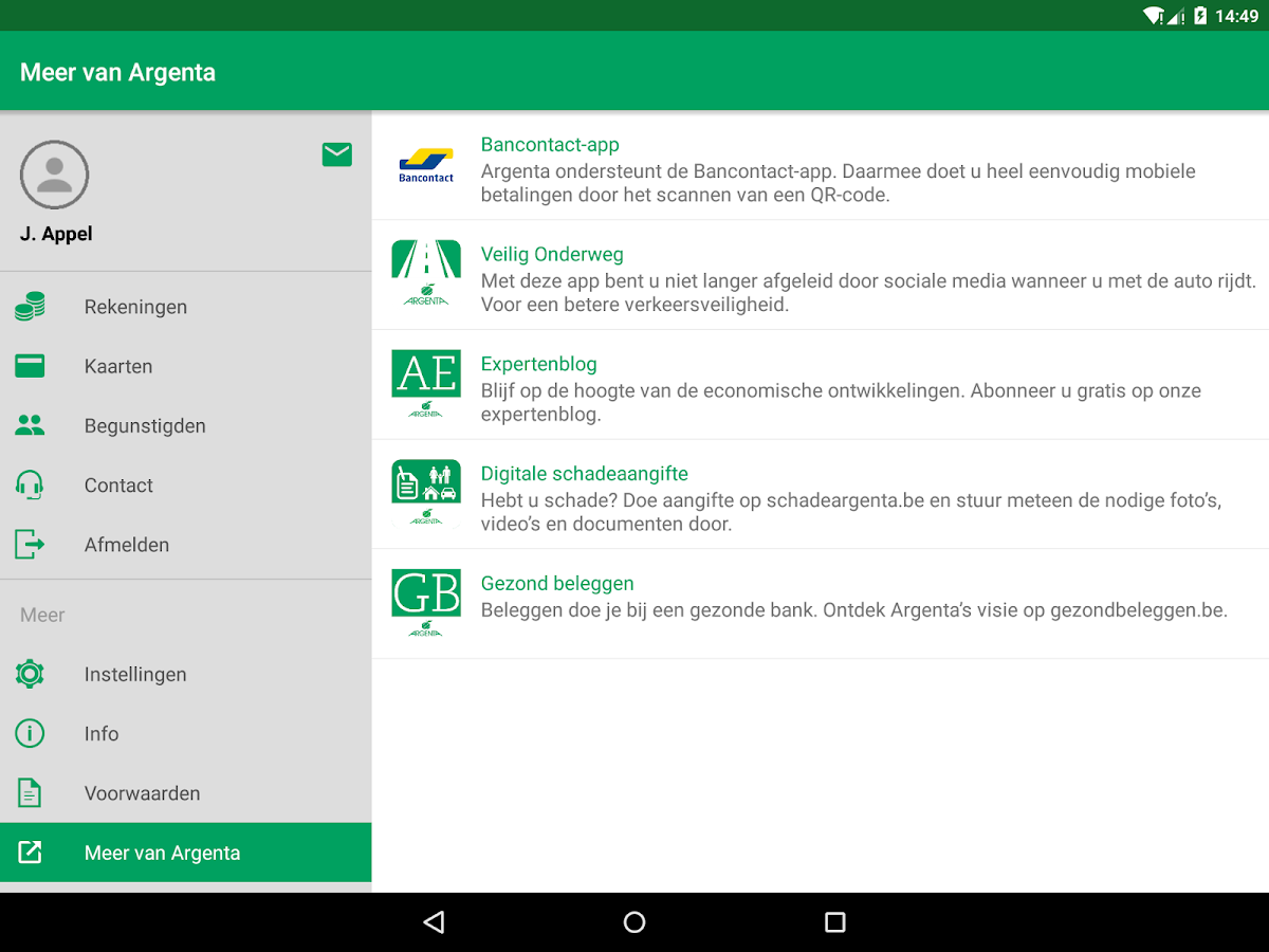 Argenta Banking Android Apps On Google Play