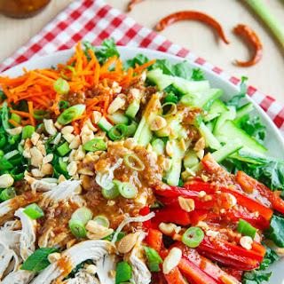 Red Kale Chicken Salad.