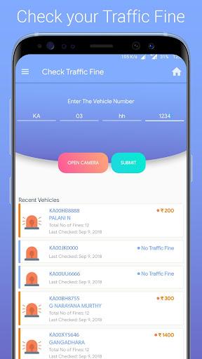 Speeding Ticket App >> Bangalore Traffic Ticket Challan Check Auto Fare By Yogesh Ojha