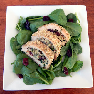 Chicken Roulade with Waldorf Quinoa