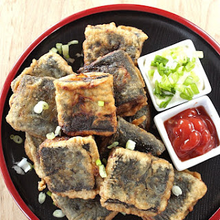 Deep Fried Nori Wrapped Tofu Recipe