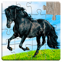 Horse games - Jigsaw Puzzles icon