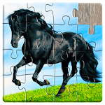 Horse Jigsaw Puzzles Game - For Kids & Adults 🐴 18.1