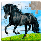 Horse Jigsaw Puzzles Games - For Kids & Adults 🐴
