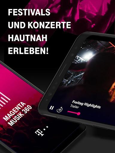 MAGENTA MUSIK 360 Exklusive Konzerte live streamen screenshot 8