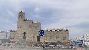 Estado actual de las obras del monumento de la rotonda.