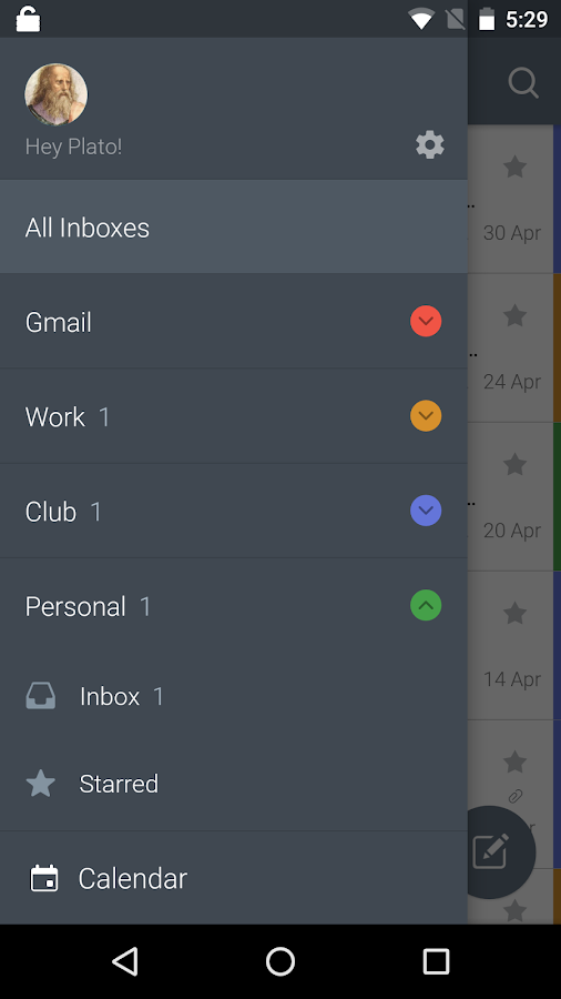 CloudMagic Email & Calendar- screenshot