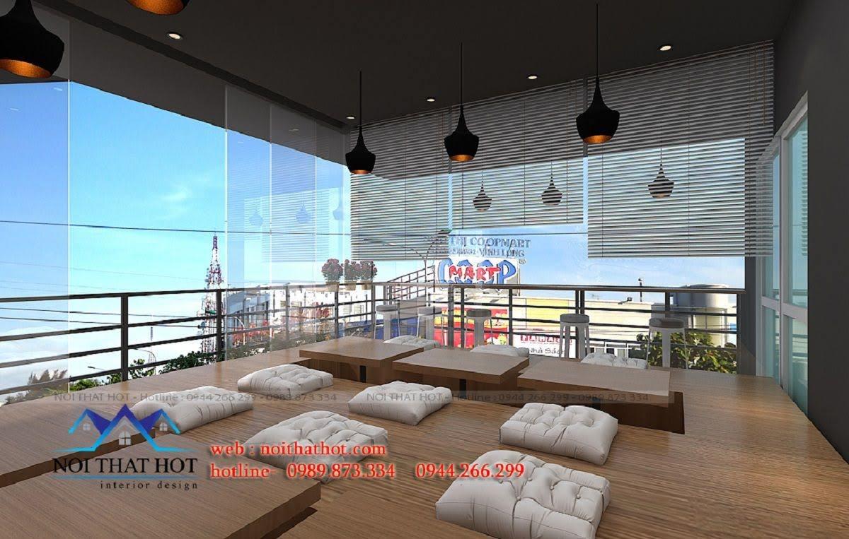 thiết kế nhà hàng lẩu nướng Đông Anh 7