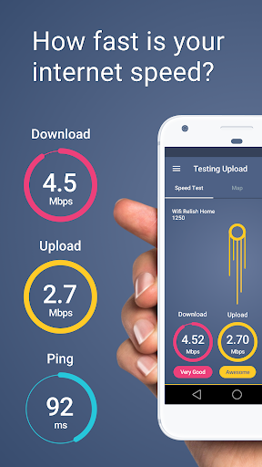 Meteor: Speed Test for 3G, 4G, Internet & WiFi 1.16.1-1 screenshots 1
