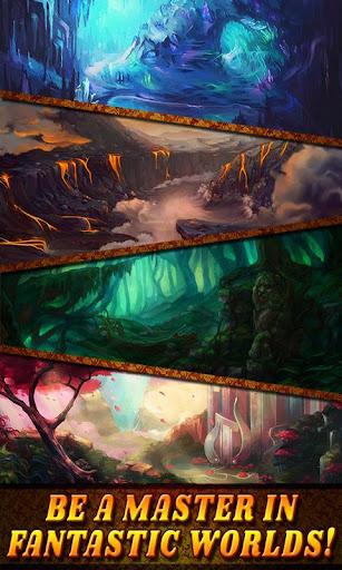 Shadow Kingdom Solitaire. Adventure of princess filehippodl screenshot 2