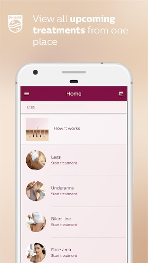 Philips Lumea IPL 2.1.1 screenshots 1