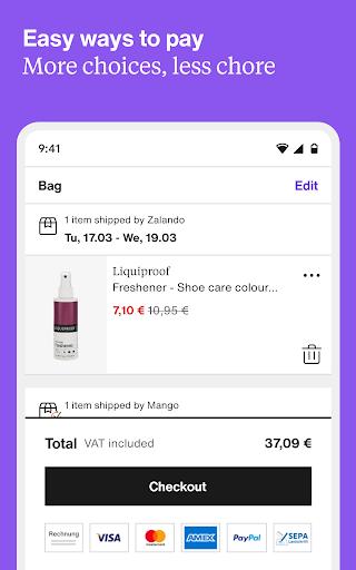 Zalando – fashion, inspiration & online shopping 4.67.0 screenshots 16