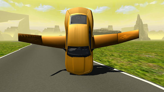 Flying Muscle Car Simulator 3D- screenshot thumbnail