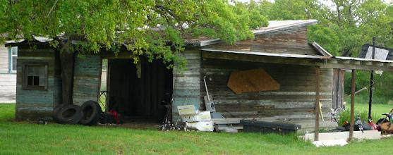 Photo: Fantastic old shed.  May TX 8 April 2012