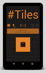 #Tiles: A Lights-Out like game- screenshot thumbnail