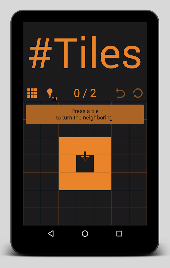 #Tiles: A Lights-Out like game- screenshot