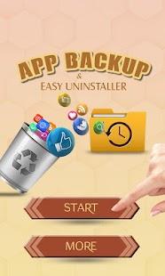 App Backup and Easy Uninstaller - náhled