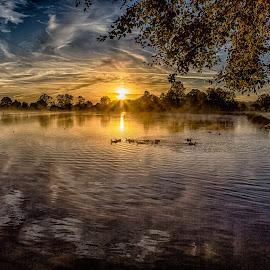 Mornings Awakening by Debbie Slocum Lockwood - Landscapes Sunsets & Sunrises (  )