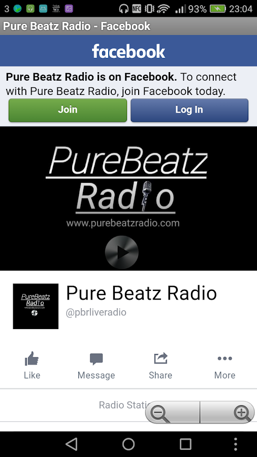 Pure Beatz Radio- screenshot
