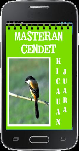 Masteran Kicau Cendet