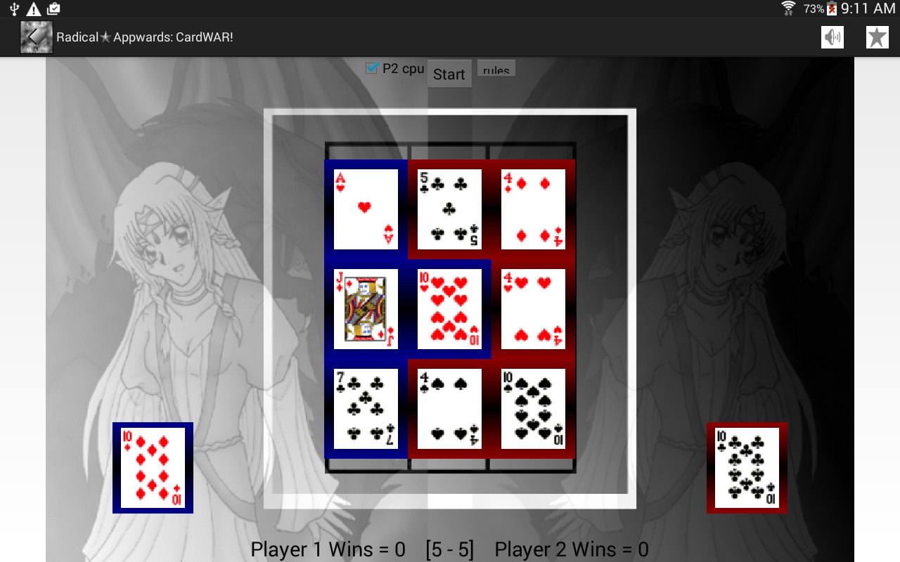 War Card Game: CardWAR!- screenshot