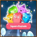 Square Explode: Colorful Square Puzzle