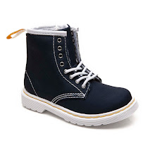Dr Martens Brooklee Two Tone Canvas BOOT