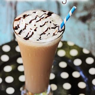 Chocolate Hazelnut Blended Coffee Recipe #IDelight.