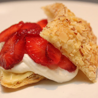 Strawberry Amaretto Pastries
