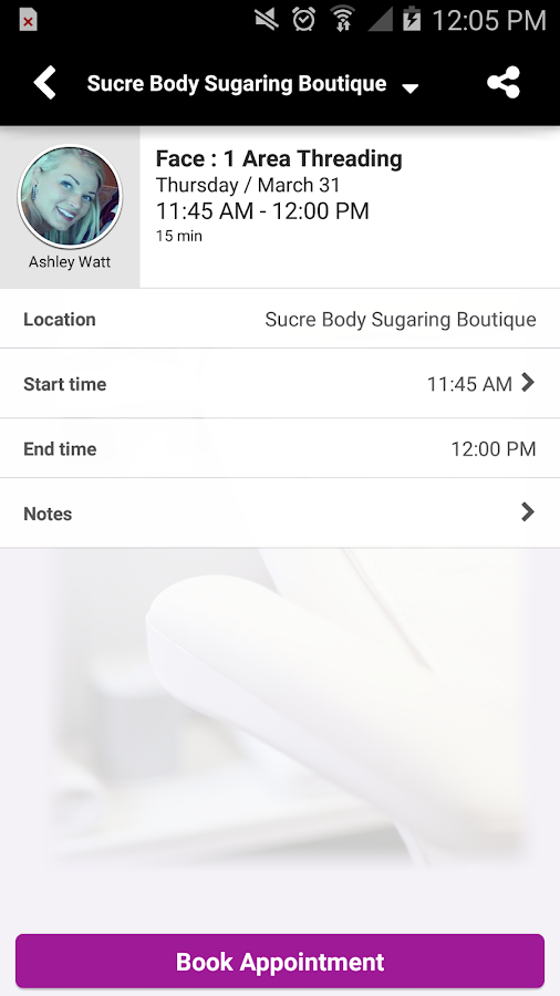 Sucre Body Sugaring Boutique- screenshot
