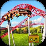 VR Roller Coaster Simulator Icon