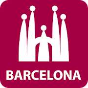 Barcelona Map Guide in English with events 2019  Icon
