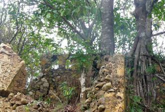 Photo: ruins Fort Dorothea, Akwidaa, west coast Ghana