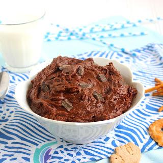 Chocolate-Chocolate Chunk Cookie Dough Dip