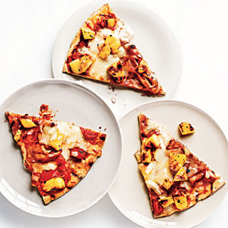 Grilled Ham and Pineapple Pizza Recipe