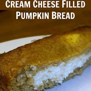 Cream Cheese Filled Pumpkin Bread Recipe