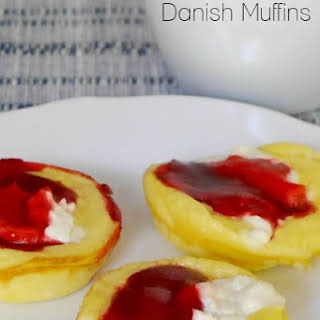 Low Carb Faux Danish Muffins.