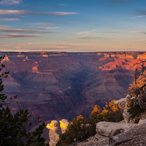 Grand Sunset by Craig Pifer - Landscapes Caves & Formations ( nps, national park, erosion, formations, sandstone, canyon, landscape, nps100, grand canyon )