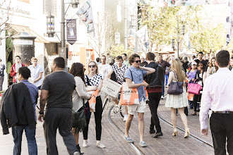 Photo: The opening of Topshop LA at The Grove.  Shop LA Style > http://bit.ly/XbGtM6