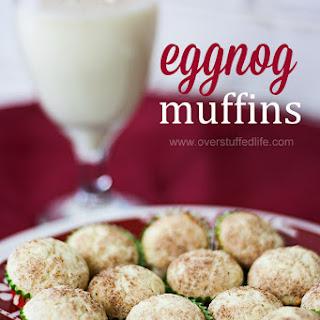 Gluten-free Eggnog Mini Muffins