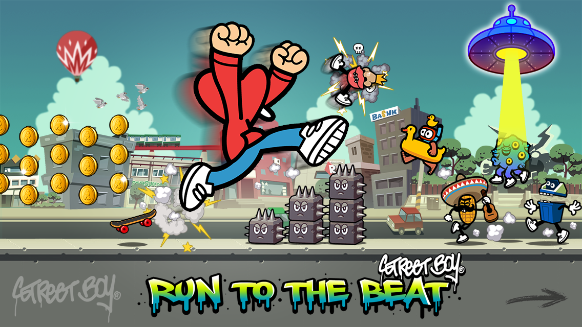 Streetboy - Run to the Beat- screenshot