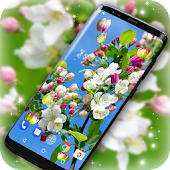 3D Blossoms Live Wallpaper