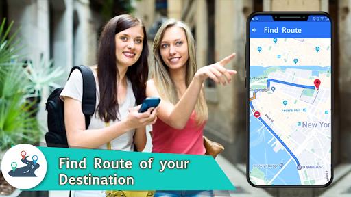 Voice GPS Navigation 2020 - Live Earth Map Parking 1.1.2 8