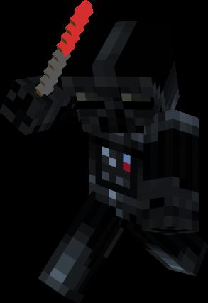 Darth Vader With Lightsaber Nova Skin