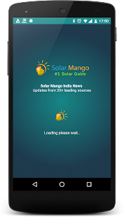Solar Mango India News- screenshot thumbnail