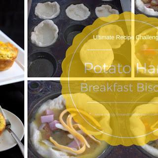 Potato Ham Breakfast Biscuit