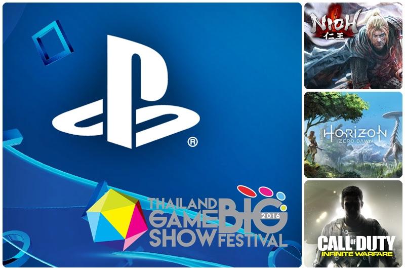[TGSBIG] PlayStation เผยเกมเด็ดที่เปิดให้ทดสอบใน TGS Big 2016