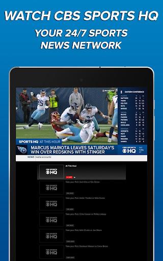 CBS Sports App - Scores, News, Stats & Watch Live 9.9.1 screenshots 11